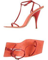 Acne Studios Sandals - Red