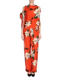 Vivienne Westwood Anglomania Pant Overall - Lyst