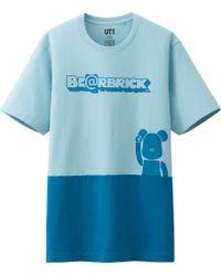 Uniqlo Men Bearbrick Graphic Short Sleeve T Shirt - Lyst