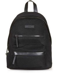 Topshop   Mesh Zip Around Backpack   Lyst