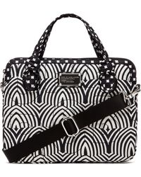 """Marc By Marc Jacobs - 13"""" Gamma Ray Print Computer Commuter - Lyst"""