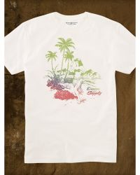 Denim & Supply Ralph Lauren Cotton Jersey Graphic Tee - Lyst