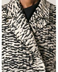 Lanvin Zebra Coat - Lyst