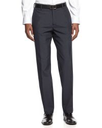 Kenneth Cole Reaction Straight-fit Pinstripe Pants - Lyst
