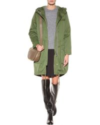 Marc By Marc Jacobs Classic Cotton Parka - Lyst