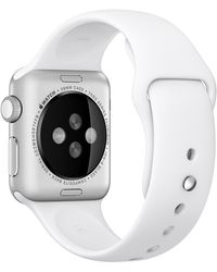 Yes - Apple Watch Sport With 38mm Silver Aluminium Case & Sport Band - Lyst