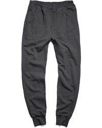Todd Snyder   Mercer Sweatpant In Charcoal   Lyst