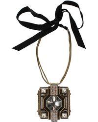 Lanvin - Large Pendant Necklace - Lyst