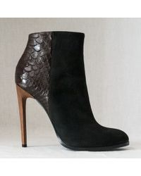 Haider Ackermann boots heel boots ankle boots - Lyst