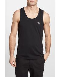 RVCA 'Virus - Performance Series' Fitted Moisture Wicking Tank Top - Lyst