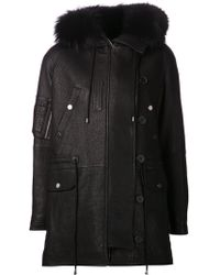 Yigal Azrouël - Long Hooded Jacket - Lyst