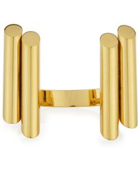 Maiyet - Empire Gold-plated Bangle - Lyst