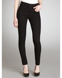 Salsa Secret Push-In Slim Leg Jeans - Black