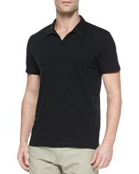 Theory Willem Shortsleeve Nobutton Polo Shirt - Lyst
