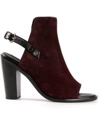 Rag & Bone Purple Ankle Boots - Lyst