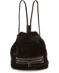 Milly Skylar Backpack Black - Lyst