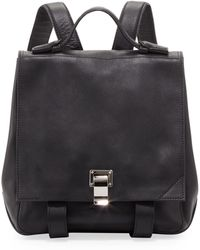 Proenza Schouler Small Leather Backpack - Black