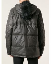 Diesel Zipped Padded Jacket - Lyst