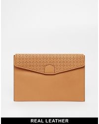 French Connection - Leather Mini Tablet Case - Lyst