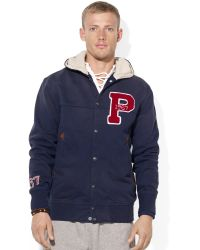 Ralph Lauren Polo Hooded Terry Jacket - Lyst