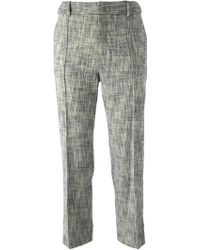 Paul by Paul Smith Cropped Trousers - Lyst