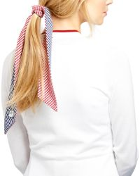 Brooks Brothers - Cotton Gingham Scarf - Lyst