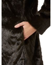 Ellen Tracy - Mink Faux Fur Coat - Lyst