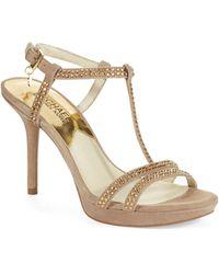 MICHAEL Michael Kors Yvonne Platform Sandals - Lyst