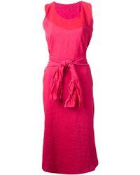 Daniela Gregis Belted Dress - Lyst