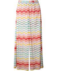 Missoni Zig Zag Pattern Trousers - Lyst