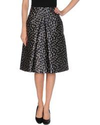 Michael Kors Knee Length Skirt - Lyst