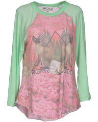 Wildfox T-shirt - Lyst