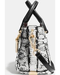 COACH | Swagger 20 In Colorblock Exotic Embossed Leather | Lyst