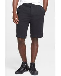 T By Alexander Wang Men'S Jersey Shorts With Taping - Lyst