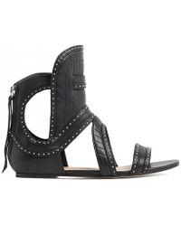 IRO Xanka Sandal black - Lyst