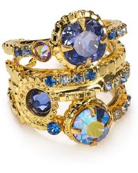 Sorrelli - Stacked Crystal Ring - Lyst