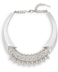 Vince Camuto - Glam Punk Teardrop Collar Necklace - Lyst