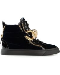 Giuseppe Zanotti Hi Top Sneakers - Lyst
