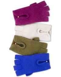 Laundry by Shelli Segal - Pearlescent Bead Driving Gloves - Lyst