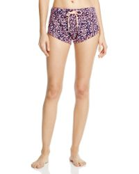 Honeydew Intimates - Day Off Printed Shorts - Lyst