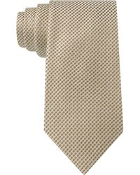 Sean John White Float Unsolid Solid Tie - Lyst