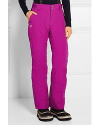 Peak Performance - - Anima Shell And Canvas Ski Pants - Violet - Lyst