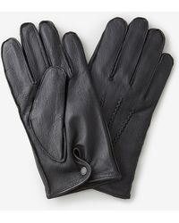 Barbour Harton Leather Glove - Lyst