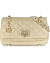 DKNY Gansevoort Quilted Nappa Leather Chain Shoulder Bag - Lyst