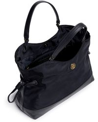 Tory Burch Mini Cinched Nylon Tote - Lyst