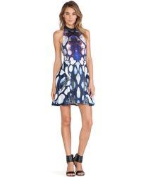 Ringuet Abstract-Print Crepe Dress  - Multicolor