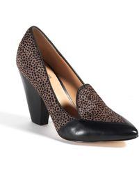 Belle By Sigerson Morrison Marjaly Leather Pumps - Lyst