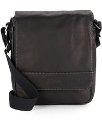 Kenneth Cole Reaction - Columbian Leather Crossbody Bag - Lyst