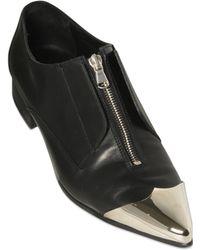 Diesel Black Gold - 25Mm Metal Toe Zip Up Shoes - Lyst