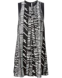 Proenza Schouler Wood Grain Shift Dress - Lyst